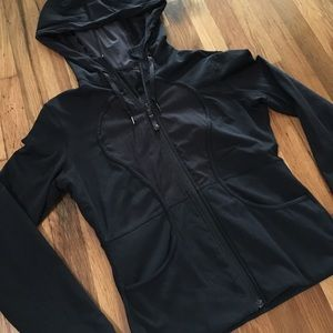 lululemon athletica Black Reversible Hoodie